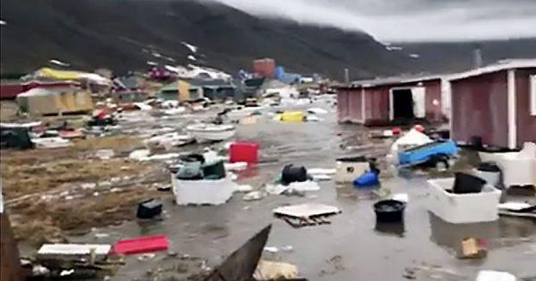 La côte ouest du Groenland touchée par un tsunami