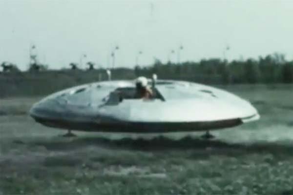Vidéo: Prototype d'une soucoupe volante conçue par les États-Unis, l'Avrocar