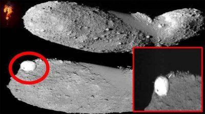 Un étrange objet sphérique a été Repéré sur l'astéroïde Itokawa