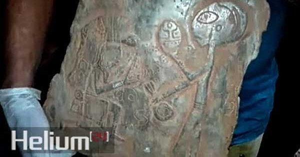 Vidéo: Un extraterrestre découvert sur une antique pierre Maya