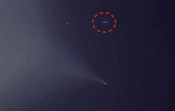 Vidéo: La Fusée Japonaise suivie par un Ovni le 18 janvier 2018