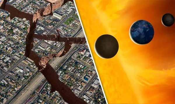 Des tremblements de terre de magnitude 6 sont prévus DEMAIN du fait que les planètes s'alignent