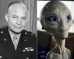Eisenhower et les extraterrestres, l'étau ce resserre?