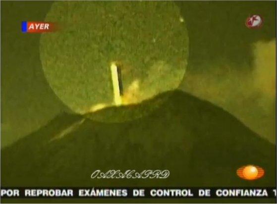 L'ovni du Popocatepetl