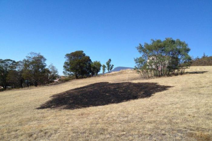 Un mystérieux rayon de lumière laisse une trace au sol en Australie