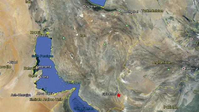 Un séisme de 7,8 secoue l'Iran