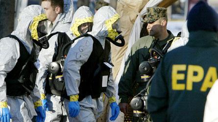 Enveloppe empoisonnée interceptée à Washington