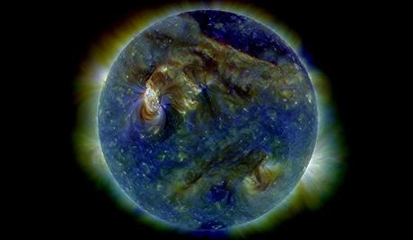 Un orage magnétique a commencé sur Terre