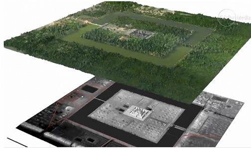 Les archéologues ont découvert une ancienne ville au Cambodge avec une télédétection par laser