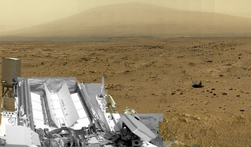 Le panorama de Mars d'un milliard de pixels