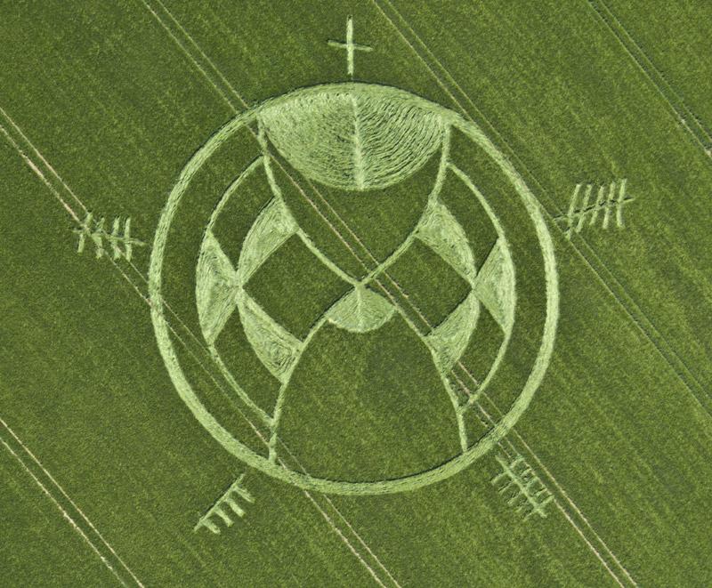 crop circles Silbury hill