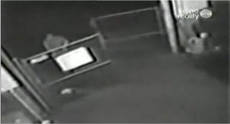 Un enlèvement filmé par une caméra de sécurité