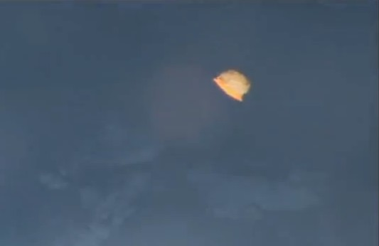 Un OVNI repéré près de l'ISS?