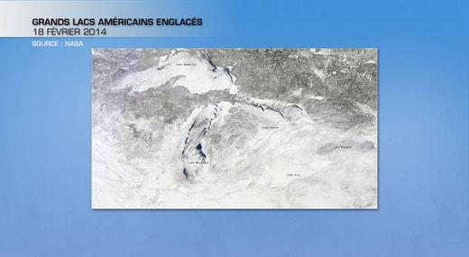 Ere glaciaire en Amérique du Nord