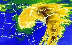 Les super-tempêtes sont causées par le déplacement des pôles magnétiques