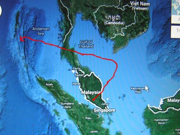 Vol MH370: Après les ovnis, une force inconnue