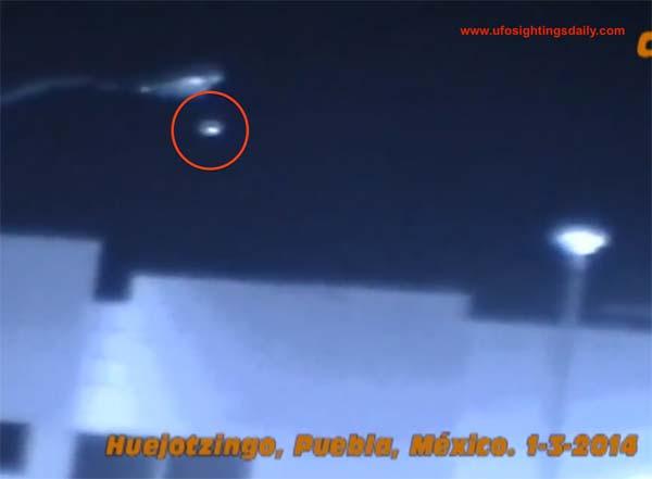 Une nouvelle soucoupe volante survole le Volcan Popocatepetl