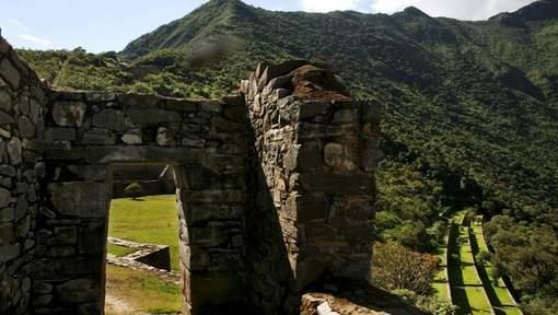 Découverte d'un temple précolombien au Pérou