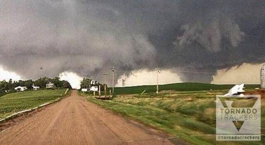 La tornade du Nebraska n'était pas une double mais une triple tornade
