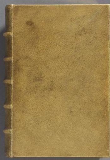Découverte d'un livre sur l'âme relié avec de la peau humaine