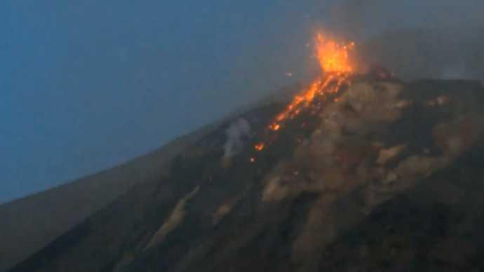 Un nouveau cratère dans le volcan Stromboli