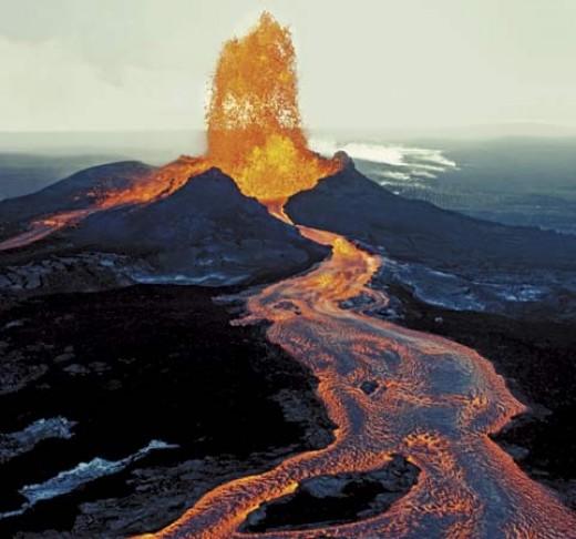 Etat d'urgence à Hawaï après une éruption volcanique