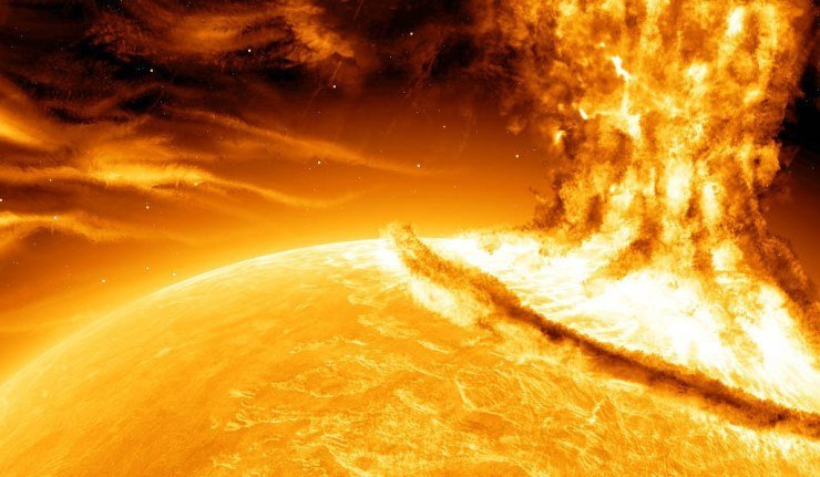 Eruption solaire de classe X1 ce dimanche