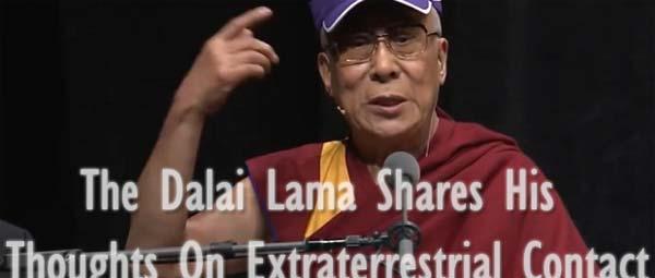 L'avis du Dalai Lama sur les Extraterrestres