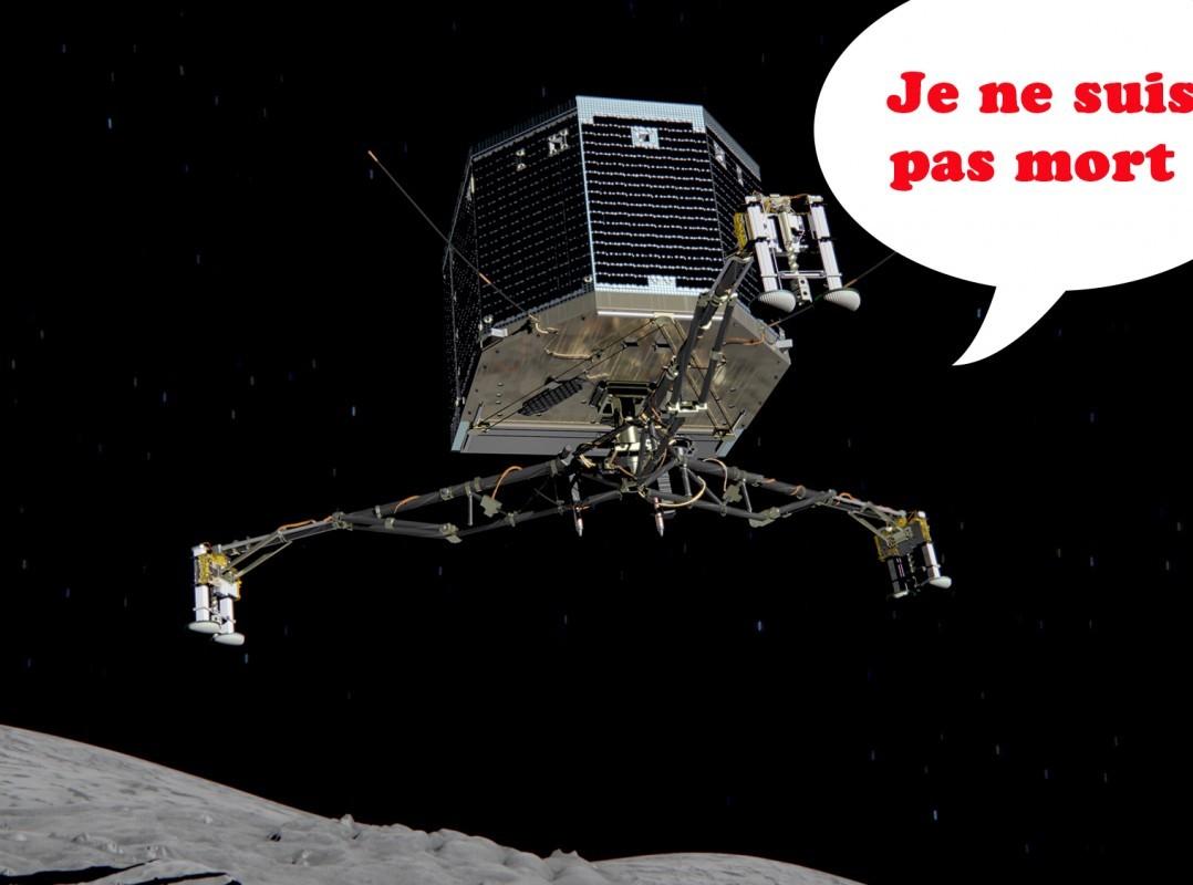 Philae va bien et pourrait vivre plus longtemps que prévu !