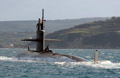 Rencontre entre un énorme OVNI en forme de «V» et un sous-marin nucléaire de l'US Navy