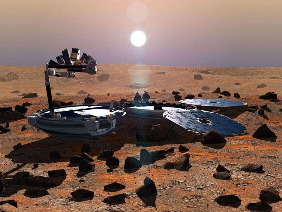 Beagle 2 retrouvé intact sur Mars, onze ans après sa disparition
