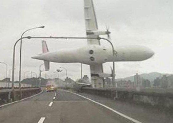 Taiwan - TransAsia Airlines: La vidéo choc du crash de l'avion