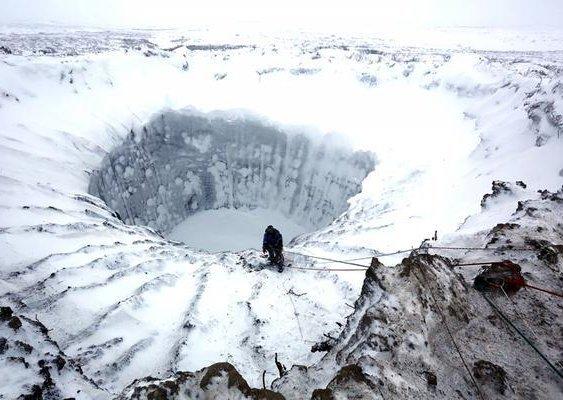 De nouveaux cratères géants repérés en Sibérie