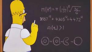 Homer Simpson découvre le boson de Higgs 10 ans avant les scientifiques !