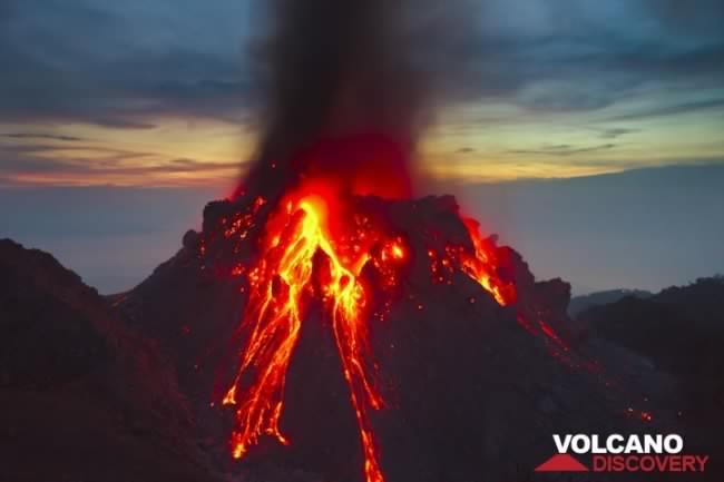 40 volcans sont en éruption ce moment dans le monde