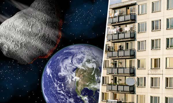 La NASA alerte que des astéroïdes de la taille d'une tour HLM se dirigent sur la Terre dans les jours à venir!