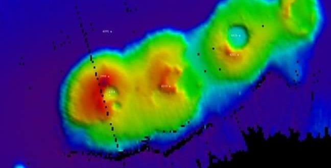 Découverte de volcans sous-marins au large de Sydney