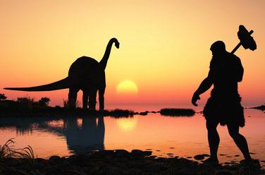 Un scientifique démis de ses fonctions pour avoir prouvé la coexistence des dinosaures et des Hommes