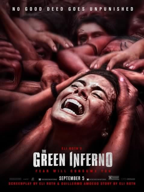The Green Inferno: du SJW pour souper!
