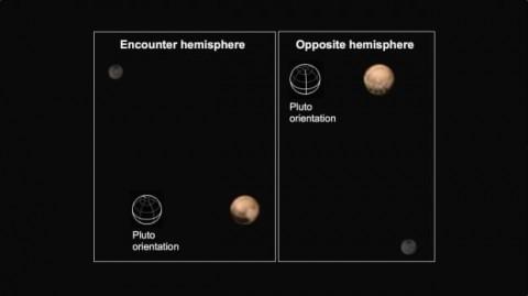 Les deux faces capturées par la sonde.Crédit: NASA