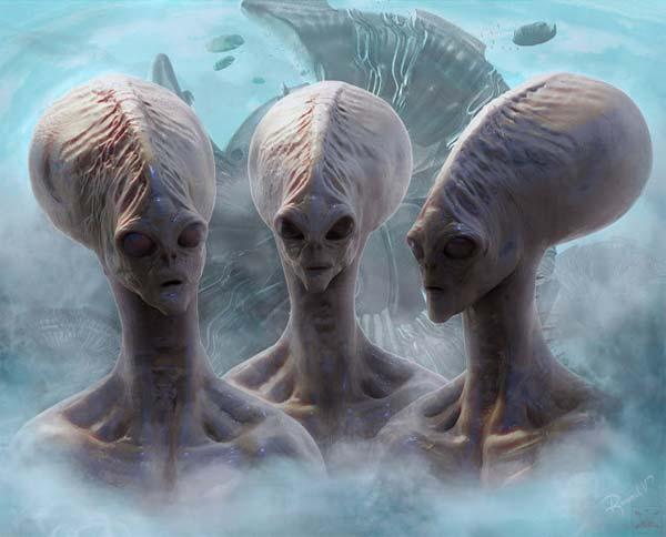5 espèces extraterrestres qui sont en contact avec la Terre en ce moment-même