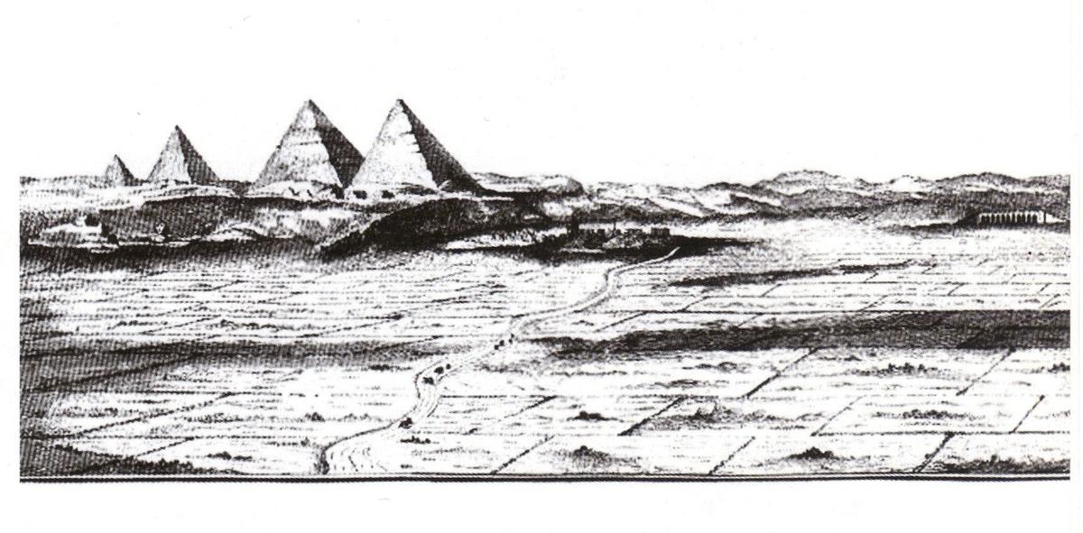 Découverte d'une mystérieuse 4ème pyramide oubliée à Gizeh