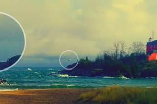 Un OVNI flotte au dessus d'une plage de Marquette dans le Michigan
