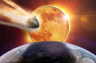 Une Super-Lune, éclipse et un astéroïde le même jour indiquent « la fin du monde »