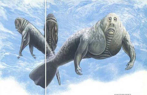 Une mystérieuse créature filmée dans les eaux de l'Antarctique