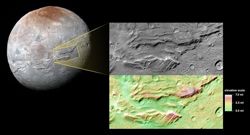 Charon, la plus grosse lune de Pluton, aurait abrité un océan