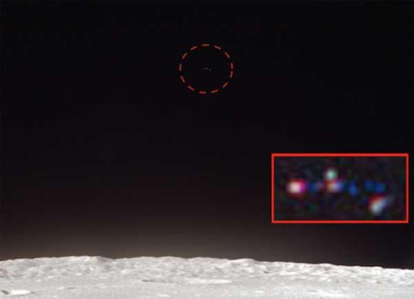 Un Ovni découvert dans une photo d'Apollo 12 sur la Lune