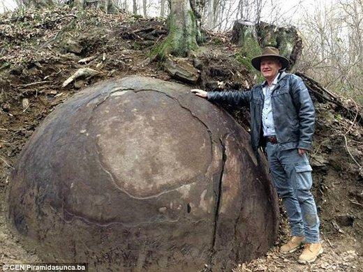 Une étrange sphère géante découverte en Bosnie