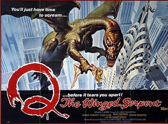 Ciné-Paranormalqc: Q - The Winged Serpent (VO)