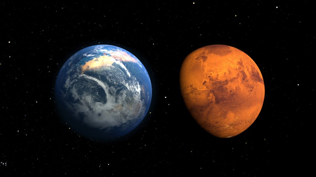 Mars au plus proche de la Terre ce lundi.